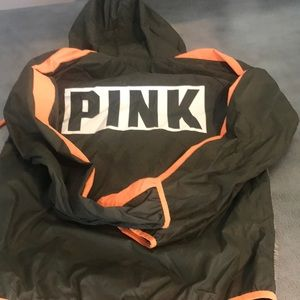 Cute pink windbreaker